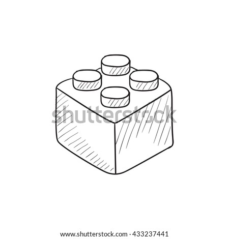 building blocks coloring pages-#46