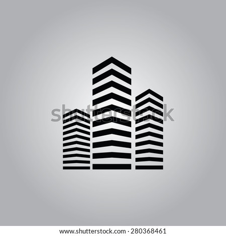 Building Icon.  - stock vector