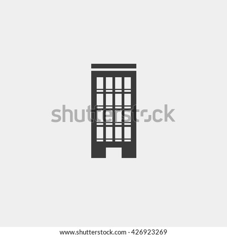 Building icon, Building icon eps10, Building icon vector, Building icon eps, Building icon jpg, Building icon picture, Building icon flat, Building icon app, Building icon web, Building icon art - stock vector