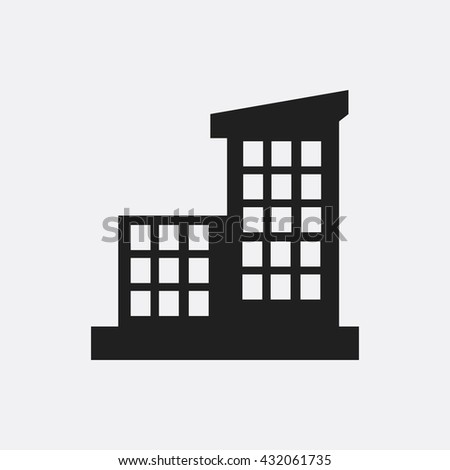 Building Icon, Building Icon Eps10, Building Icon Vector, Building Icon Eps, Building Icon Jpg, Building Icon, Building Icon Flat, Building Icon App, Building Icon Web, Building Icon Art - stock vector