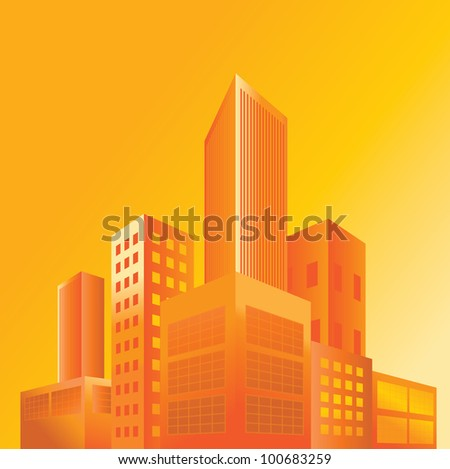 BUILDINGS (city) VECTOR - stock vector