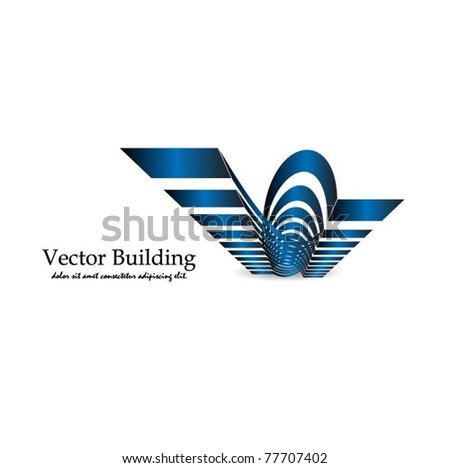 buildings vector symbol