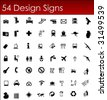 Buissnes Icons in Vector Design - stock vector