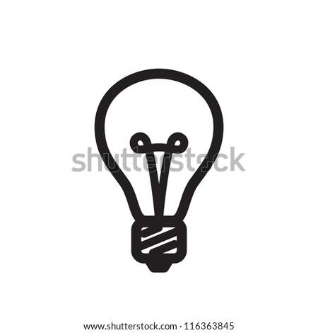 Bulb. - stock vector