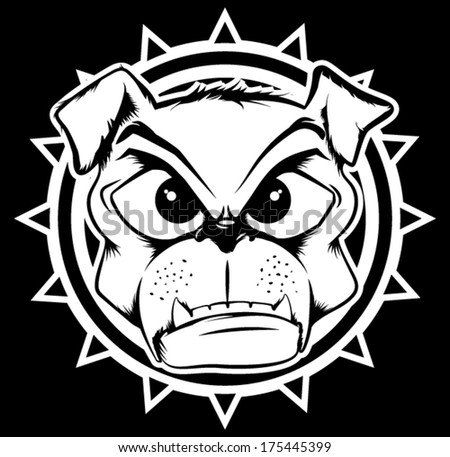 Bull Dog - stock vector
