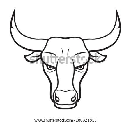 Bulls Skull Stylized Triangle Polygonal Model Vectores En Stock ...