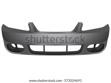 bumper car - stock vector