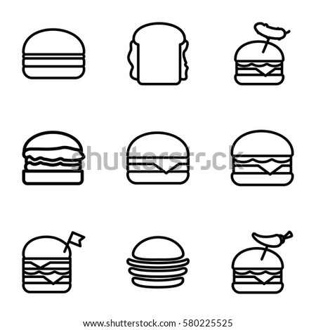 outline burger buns wiring diagrams u2022 rh broccli co