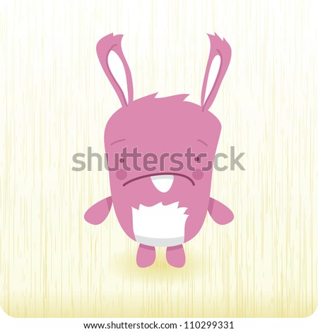 Bunny - stock vector