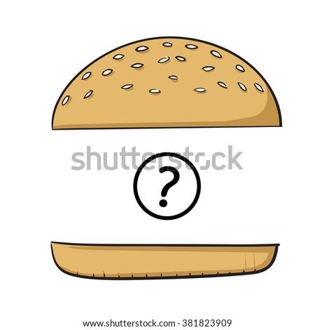 hamburger bun stock images royaltyfree images amp vectors