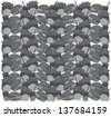 burger delicious pattern grey - stock vector