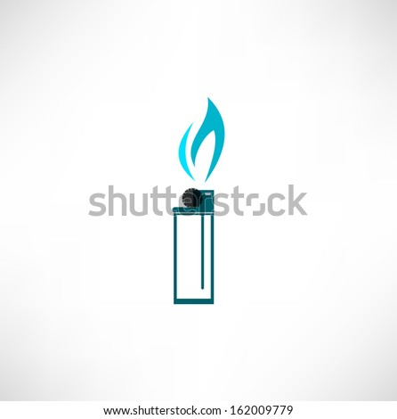 Burning Cigarette Lighter icon