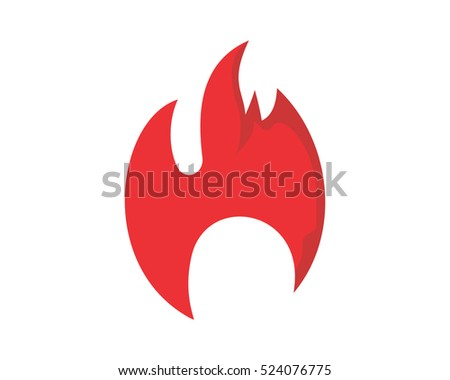 burning fire icon
