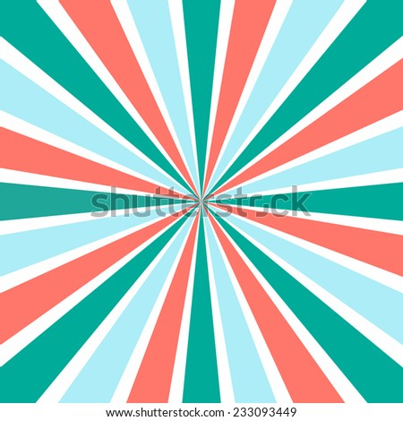 Burst vector background in retro style. Vector illustration for your design. Abstract wallpaper.  - stock vector