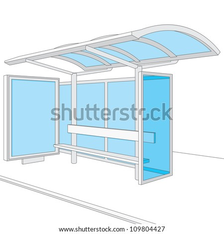 Bus stop design sketch wwwpixsharkcom images for Photo templates from stopdesign image info
