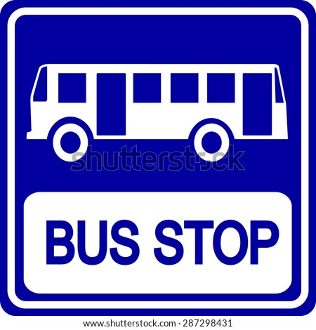 The gallery for --> Bus Stop Sign Clip Art