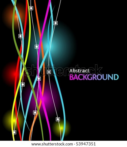 Business abstract background withh modern design for your art-work. Eps10 format. - stock vector