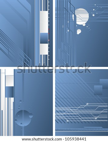Business abstract concept - EPS 10 vector - stock vector