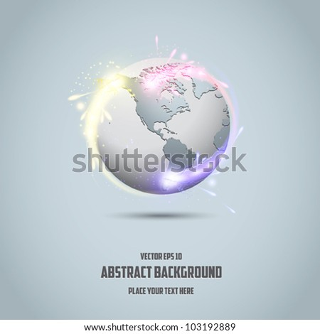 Business and communications concept - vector illustration - stock vector