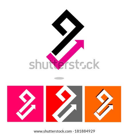 Business application icon set - isolated on white background. Editable.  - stock vector