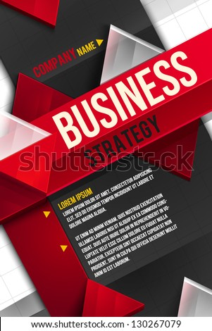 Business background. Layer template - stock vector