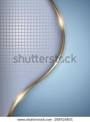 Business background light blue, elegant vector illustration. - stock vector