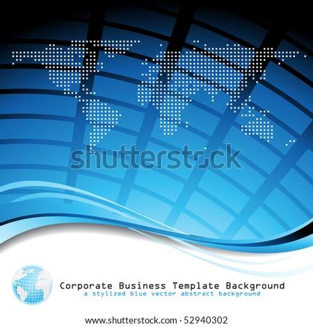 Business background. Vector. - stock vector