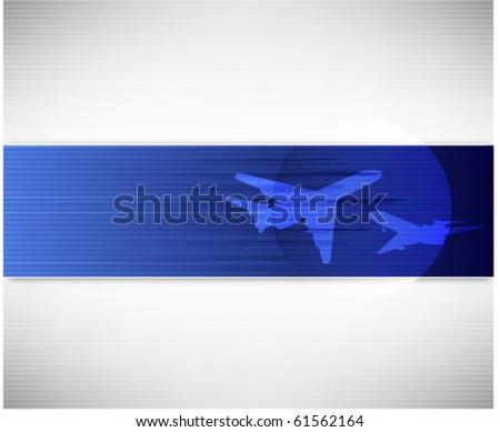 Business banner - stock vector