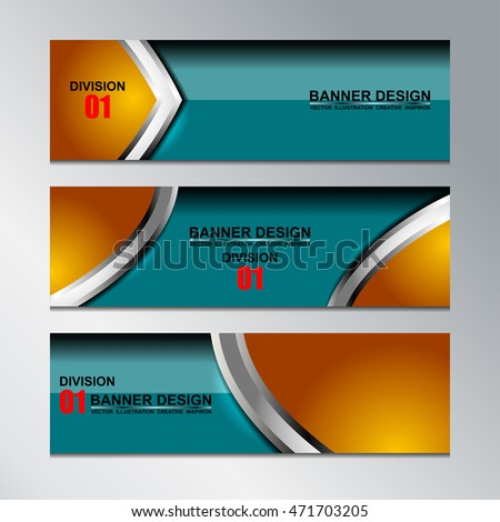 Business Banners Template Design, vector illustration