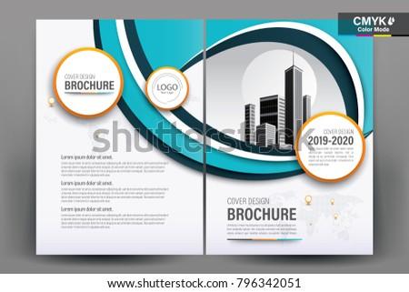 Business brochure background design template flyer stock vector business brochure background design template flyer layout poster magazine annual report saigontimesfo