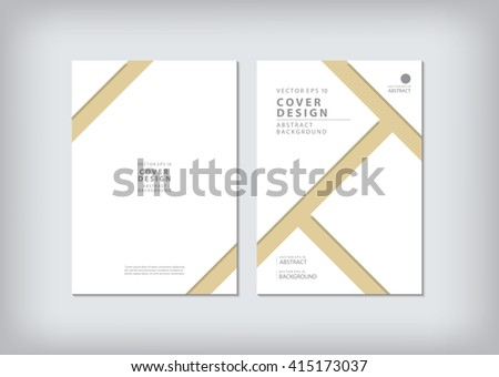 business brochure cover template layout design stock vector (royalty, Presentation Abstract Template, Presentation templates