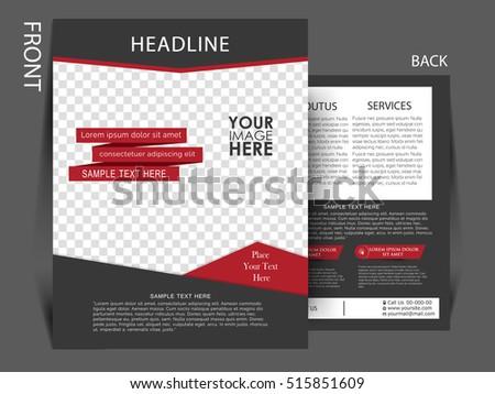 Brochure Design Business Brochure Template Creative Vector – Sample Business Brochure