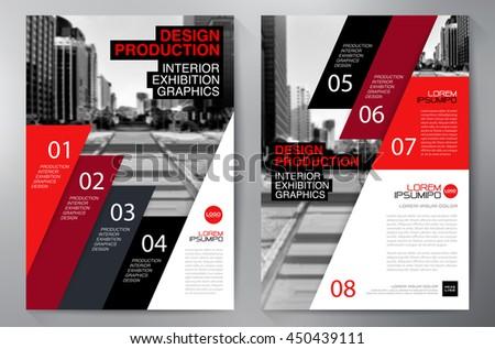 business brochure flyer design a 4 templateのベクター画像素材