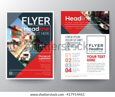 flyer layout