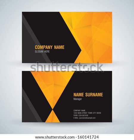 Business card abstract background vector illustration stock vector business card abstract background vector illustration reheart Choice Image