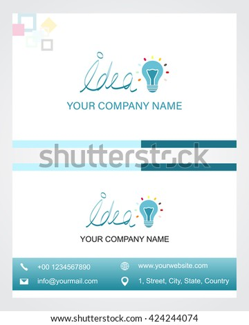 Business card design eps 10 stock vector 424244074 shutterstock business card design eps 10 reheart Gallery
