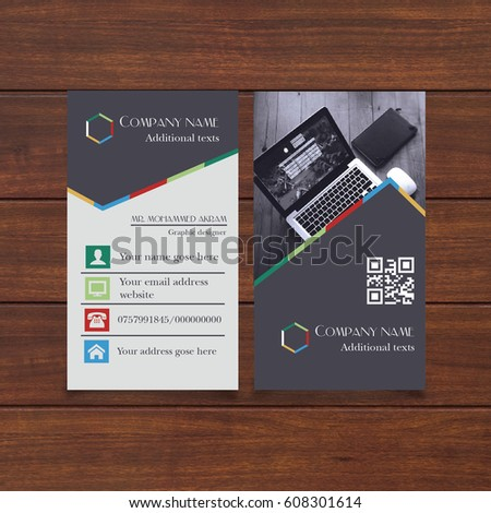 Business card design fully vector fully stock vector 608301614 business card design fully vector fully editable and re sizable useful for who update their business colourmoves