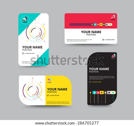 Business card design template leaflet business stock vector royalty business card design template leaflet business design vector illustration reheart Image collections