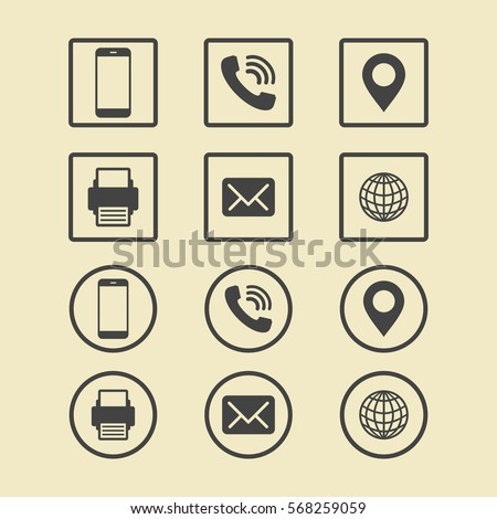 address icon stock images royalty free images vectors