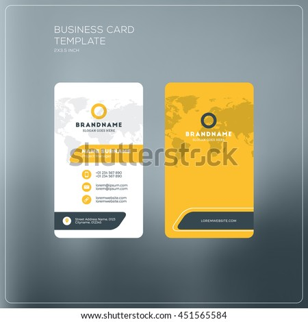 Business card print template company logo stock vector 451565584 business card print template company logo stock vector 451565584 shutterstock wajeb Gallery