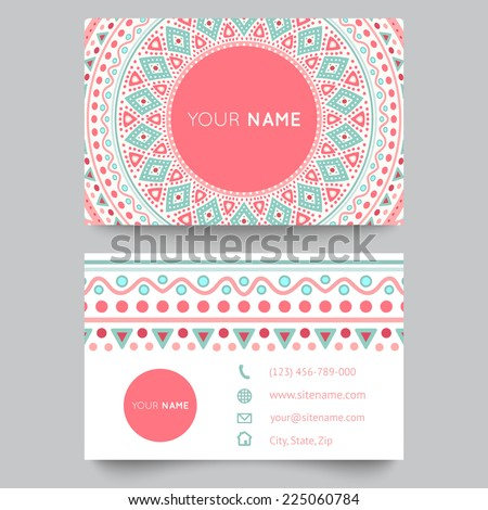 Free Printable Business Card Template
