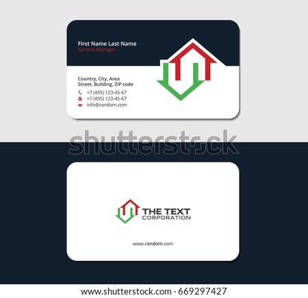 sample calling card format