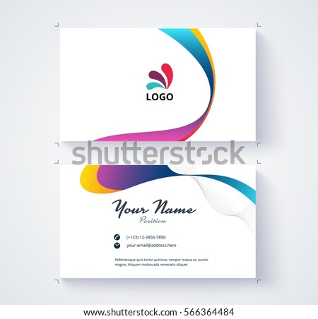 Business card template triangle abstract concept stock vector hd business card template with triangle abstract concept and commercial design vector illustration accmission Choice Image