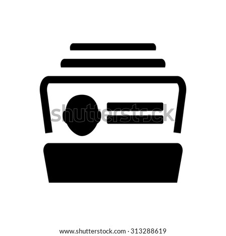 Rolodex icon stock images royalty free images vectors for Business card database