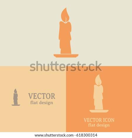 Business cards design vector illustration candle stock vector business cards design vector illustration candle icon colourmoves