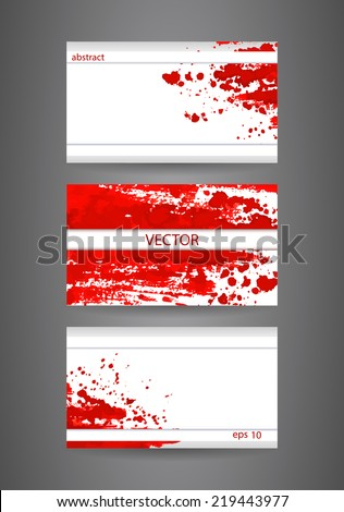 Business cards template abstract spray paint stock vector 219443977 business cards template abstract spray paint colorful watercolor colourmoves