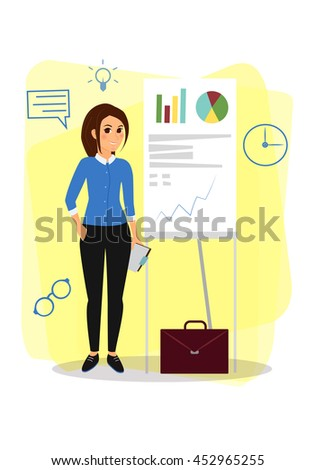 Business Cartoon characters - stock vector