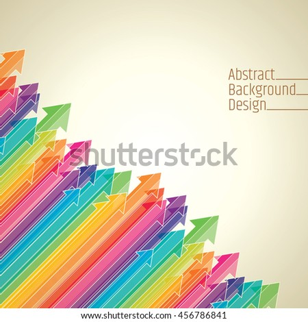 Business Colored arrows vector
