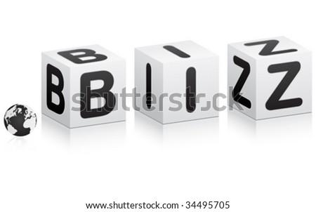 business communication vector illustration - stock vector