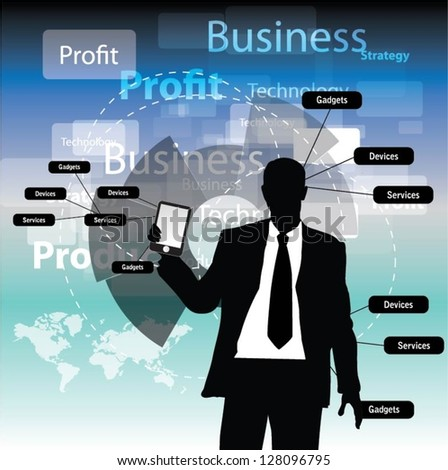 Business concept design-vector - stock vector